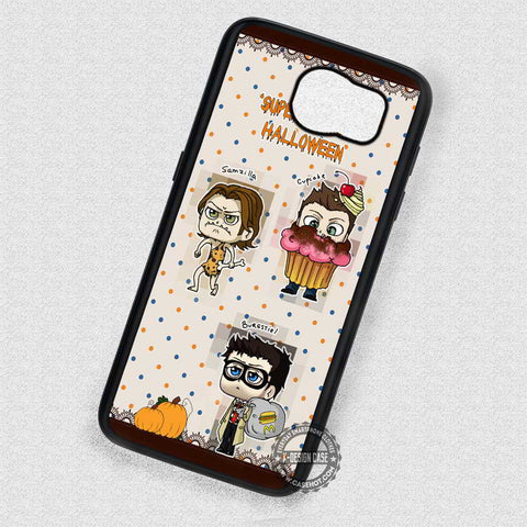 Chibis Halloween Day Supernatural - Samsung Galaxy S7 S6 S5 Note 7 Cases & Covers