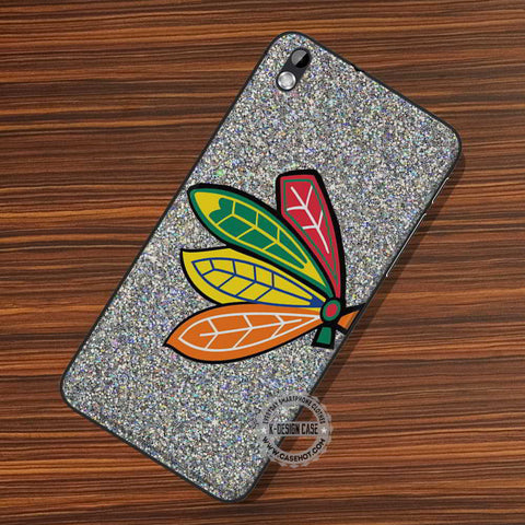 Chicago Logo Glitter - LG Nexus Sony HTC Phone Cases and Covers