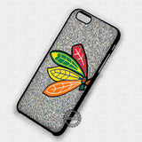Logo Glitter Ice Hockey - iPhone 7 6 Plus 5c 5s SE Cases & Covers