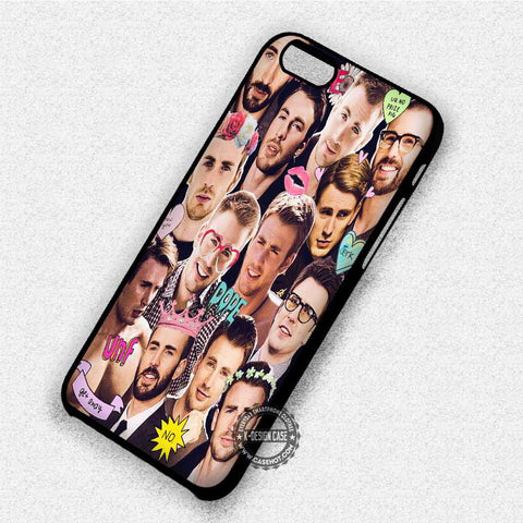Chris Evans Collage - iPhone 7 6 Plus 5c 5s SE Cases & Covers