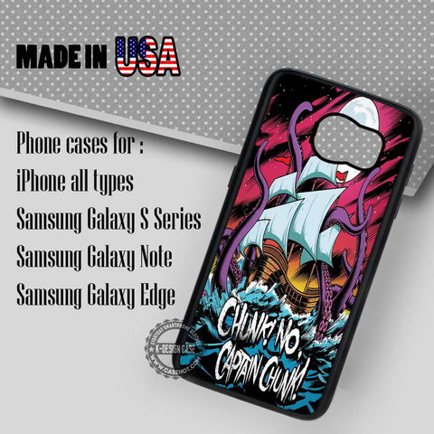 Chunk No Captain - Samsung Galaxy S7 S6 S5 Note 5 Cases & Covers
