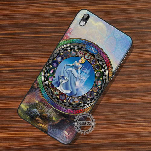 Cinderella Stained Glass - LG Nexus Sony HTC Phone Cases and Covers