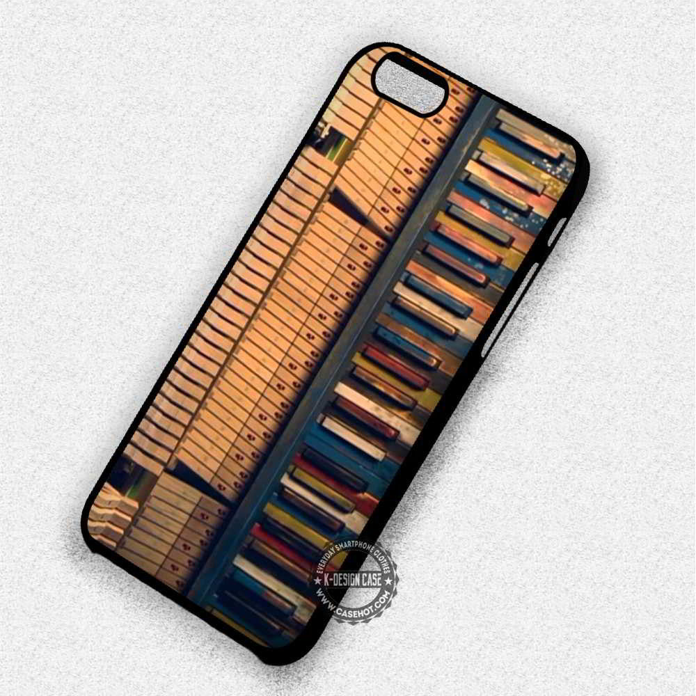 new product 3c45c 5dbe8 Coldplay Piano Music - iPhone 7 6 6s 5c 5s SE Cases & Covers