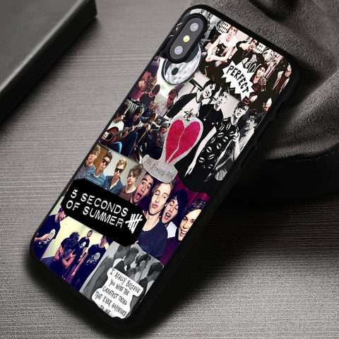 Collage 5SOS One Direction - iPhone X Case