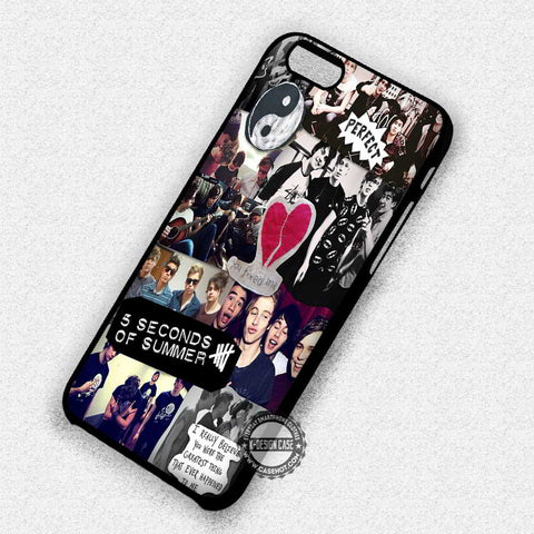 Collage 5SOS - iPhone X 8+ 7 6s SE Cases & Covers