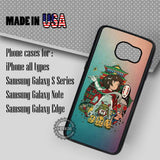 Colorful Anime Spirited Away - Samsung Galaxy S7 S6 S5 Note 5 Cases & Covers