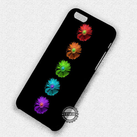 Colorful Daisy Flower - iPhone 7 6S SE 4 Cases & Covers