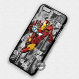 Comic Iron Man - iPhone 7 6 Plus 5c 5s SE Cases & Covers