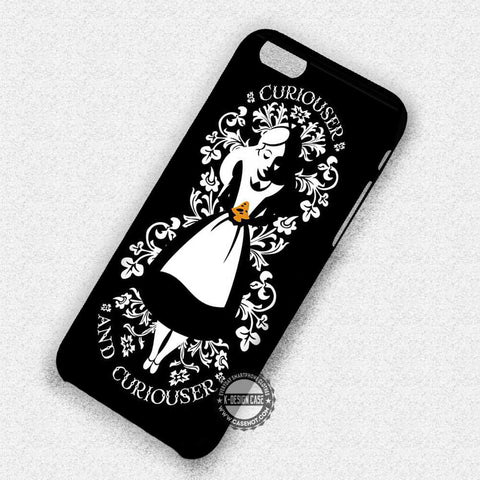 Curiouser and Curiouser Alice - iPhone 7 6 Plus 5c 5s SE Cases & Covers