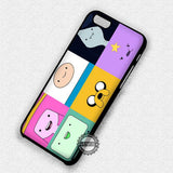 Cute Characters Adventure Time - iPhone 7 6 Plus 5c 5s SE Cases & Covers