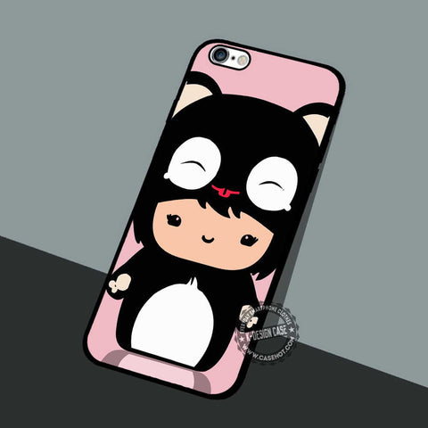 Cute Chibi Font - iPhone 7 6 5 SE Cases & Covers