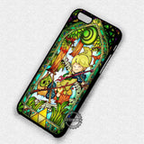 Cute Link Stained Glass - iPhone 7 6 Plus 5c 5s SE Cases & Covers
