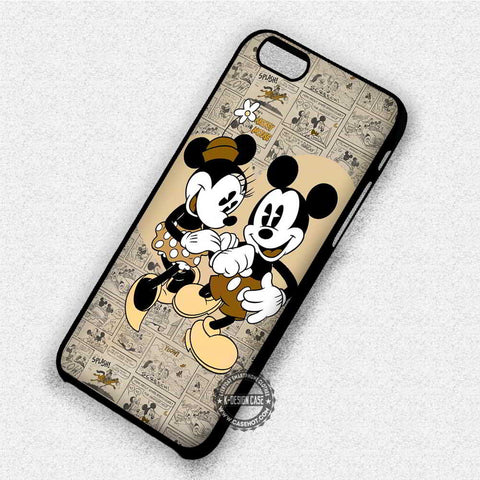 Cute Love Minnie Mouse - iPhone X 8+ 7 6s SE Cases & Covers