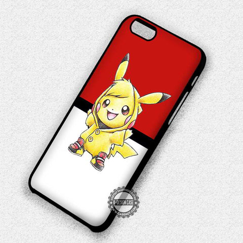 Cute Pikachu Pokemon - iPhone 7 6 Plus 5c 5s SE Cases & Covers