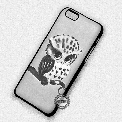 Cute Little Owl  - iPhone 7 6S SE 4 Cases & Covers