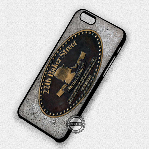 221B Baker Street - iPhone 7 6 5 SE Cases & Covers - samsungiphonecases