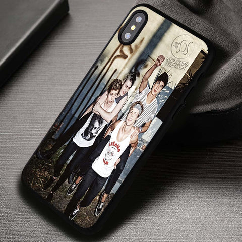 5SOS 5 Seconds Of Summer - iPhone X Case