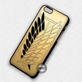 Scouting Legion Golden Gold - iPhone 7 Plus 7 6S  SE Cases & Covers