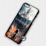 Attack on Titan Teaser  - iPhone 7 Plus 7 6S  SE Cases & Covers