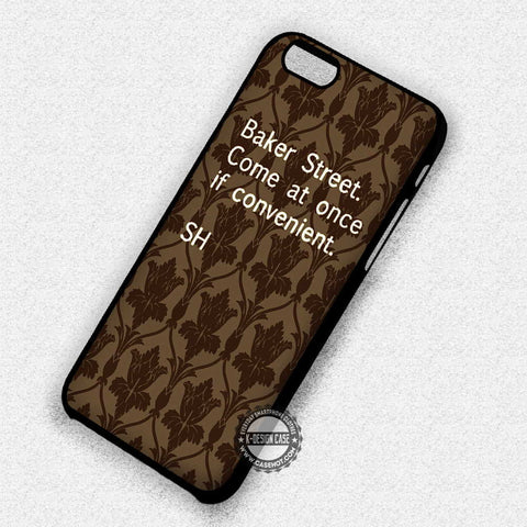 Sherlock Quote Bored - iPhone 7 6S SE 4S Cases & Covers