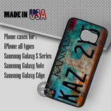 Supernatural License Plate - Samsung Galaxy S7 S6 S5 Note 5 Cases & Covers
