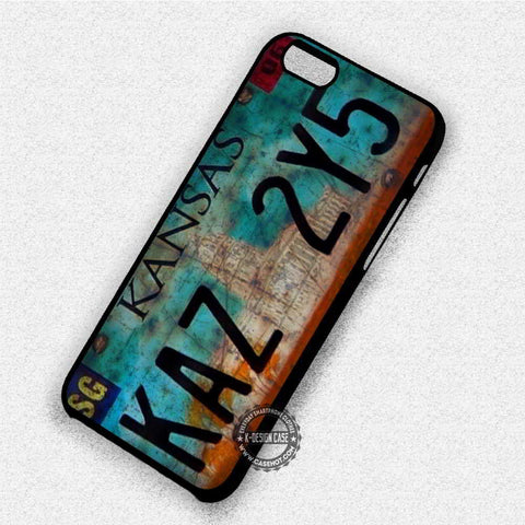 Supernatural License Plate - iPhone 7 6 Plus 5c 5s SE Cases & Covers