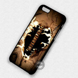 Supernatural Burning Map - iPhone 7 Plus 6 5S SE 4 Cases & Covers