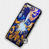 Doctor Who Tardis Painting - iPhone 7 6 5 SE Cases & Covers