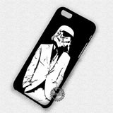 Stormtrooper in Suit - iPhone X 8+ 7 6s SE Cases & Covers