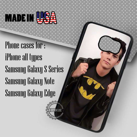 Tshirt Dylan Obrien - Samsung Galaxy S7 S6 S5 Note 5 Cases & Covers