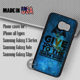 Dark Side Quotes  - Samsung Galaxy S7 S6 S5 Note 5 Cases & Covers