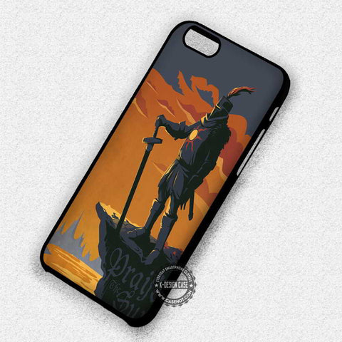 Dark Souls Praise the Sun - iPhone 7 6 Plus 5c 5s SE Cases & Covers