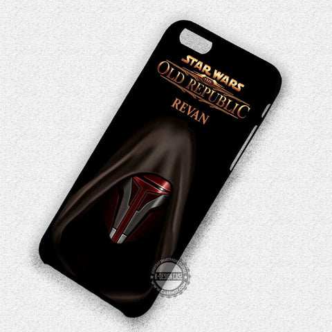 Darth Revan Art - iPhone 7 6S 5S SE4S Cases & Covers