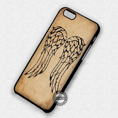 Daryl Dixon The Walking Dead - iPhone 7 6 Plus 5c 5s SE Cases & Covers