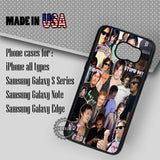 Norman Reedus Collage Walking Dead - Samsung Galaxy S7 S6 S5 Note 5 Cases & Covers