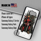 Deadpool Marvel Harley - Samsung Galaxy S7 S6 S5 Note 5 Cases & Covers