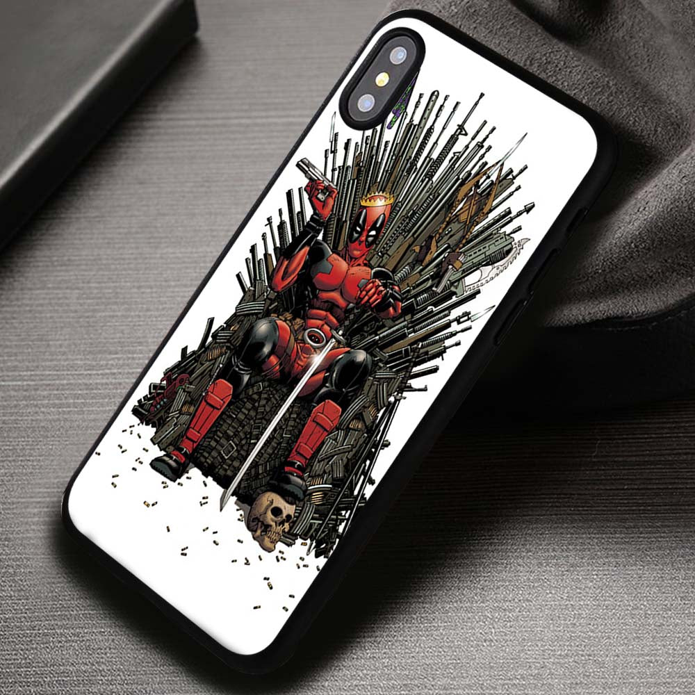 check out e8467 b7934 Deadpool Case Marvel Harley Quinn - iPhone X 8+ 7 6s SE Cases & Covers  #iPhoneX