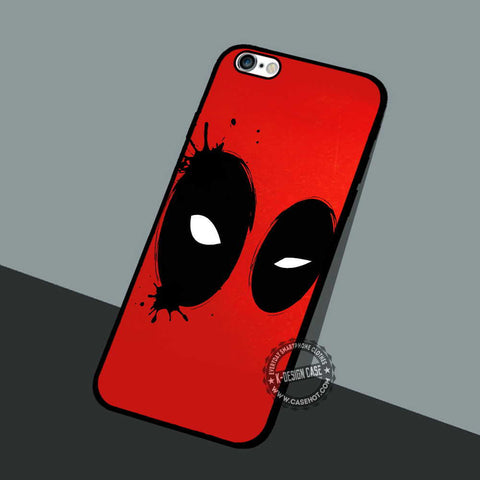 Deadpool Eyes Illustration - iPhone 7 6 5 SE Cases & Covers