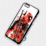 Deadpool Painting - iPhone 8+ 7 6s SE Cases & Covers