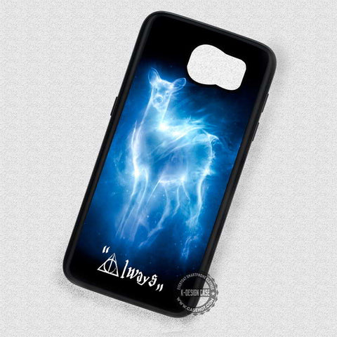 Deer Illuminated By The Light Harry Potter- Samsung Galaxy S7 S6 S5 Note 7 Cases & Covers
