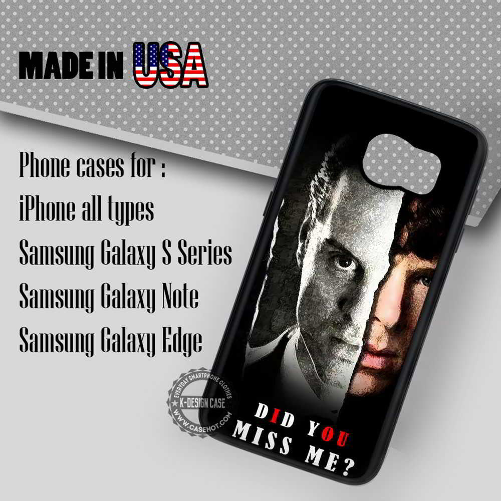 Quote Moriarty Sherlock Holmes - Samsung Galaxy S7 S6 S5 Note 5 Cases &  Covers