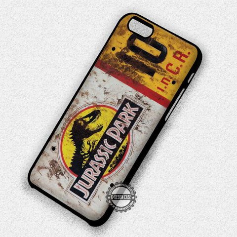 Dino License Plate - iPhone 7 6 Plus 5c 5s SE Cases & Covers