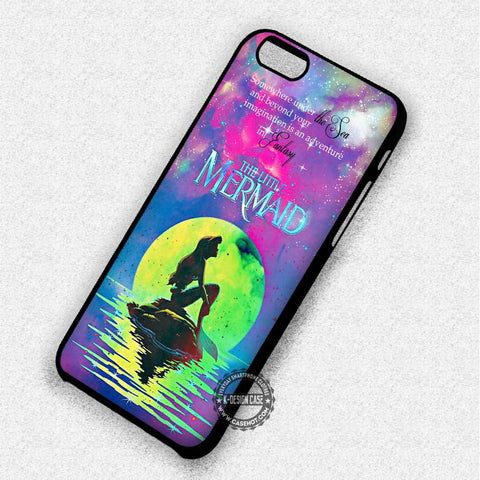 Ariel The Little Mermaid Quote - iPhone 7 6 SE Cases & Covers