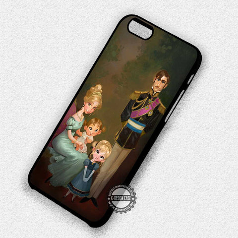 Frozen Family Painting - iPhone 7+ 7 6 6+ SE Cases & Covers
