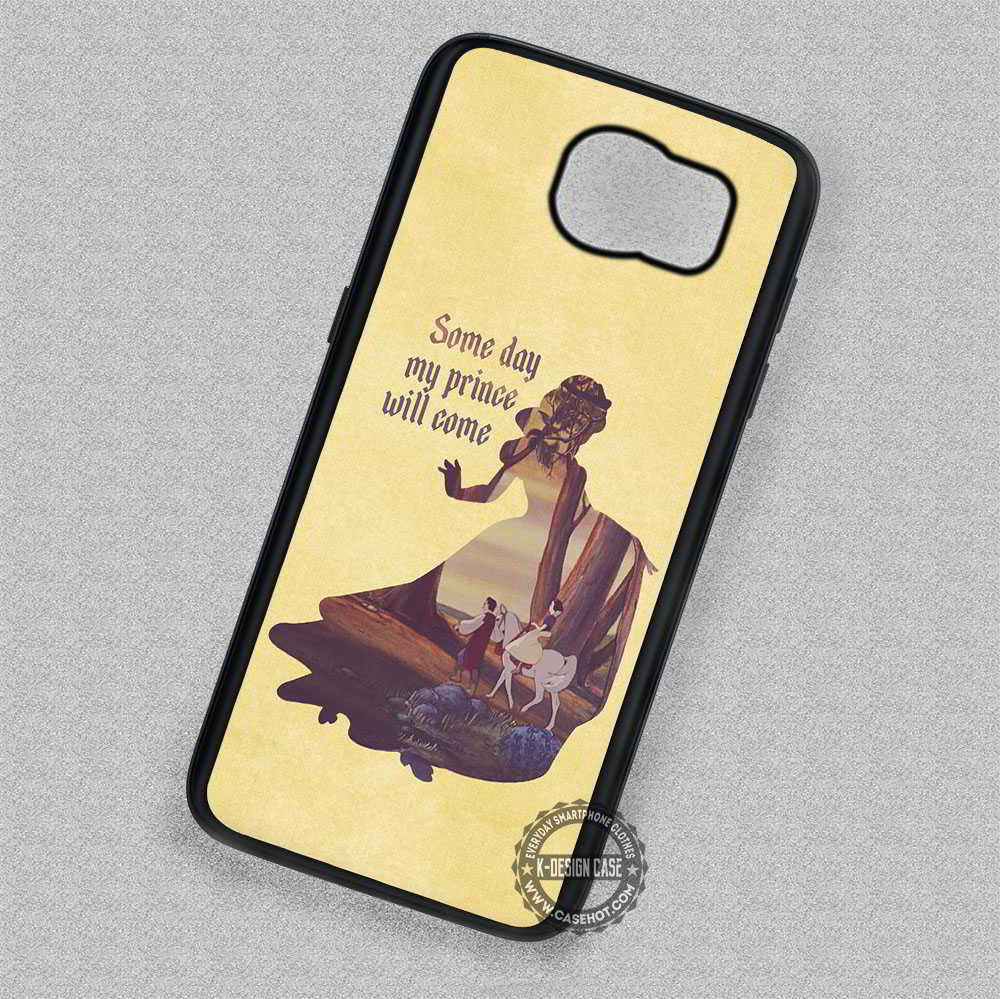 Snow White Disney Princess Quotes - Samsung Galaxy S7 S6 S5 Note 4 Cases &  Covers