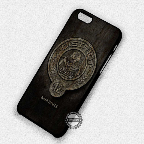 Mining Symbol Katniss  - iPhone 7 6 Plus 5c 5s SE Cases & Covers