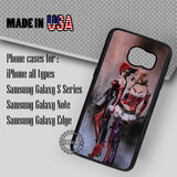 Double Harley Quinn - Samsung Galaxy S8 S7 S6 Note 8 Cases & Covers