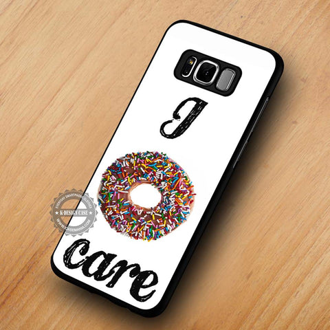 Doughnut Food Desert Quote - Samsung Galaxy S8 Case