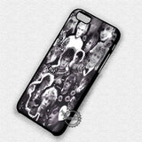 Evan Peters Collage - iPhone X 8+ 7 6s SE Cases & Covers