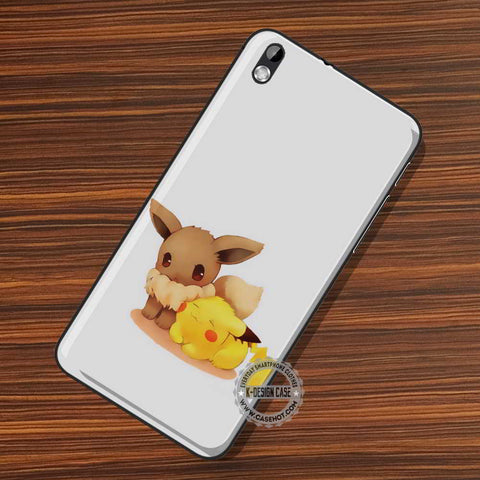 Eevee and Pikachu - LG Nexus Sony HTC Phone Cases and Covers